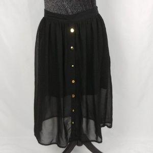 XXI Chiffon Maxi Skirt